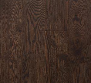 Wire Brushed Red Oak Cocoa