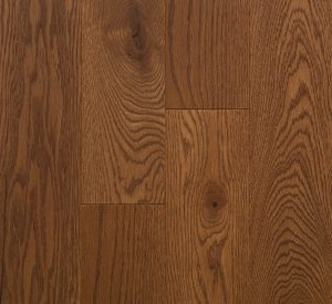 Wire Brushed Red Oak Kahlua
