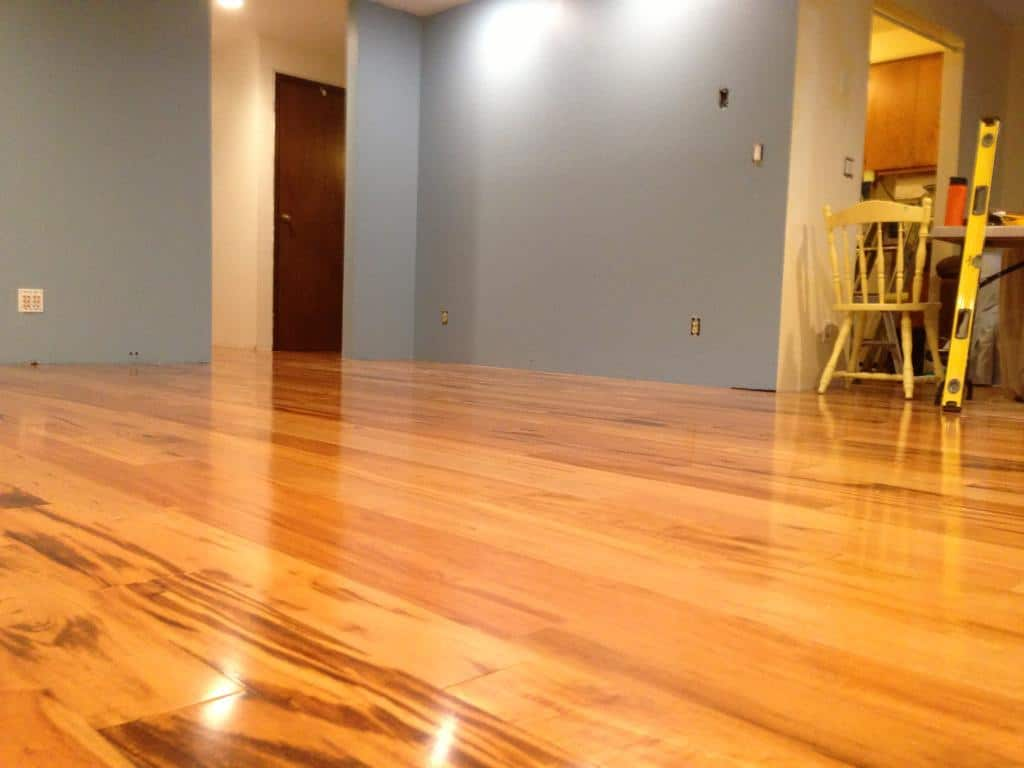 Benefits and drawbacks of cork floor covering house in - Pros and cons of hardwood flooring ...