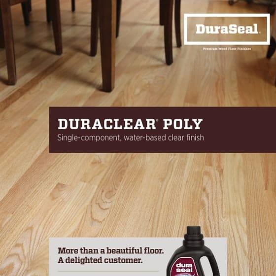 DuraClear Sell Sheet  English1